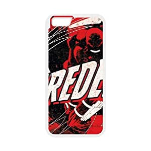 iPhone 6 4.7 Inch Cell Phone Case White Daredevil Grunge F4X3ZD