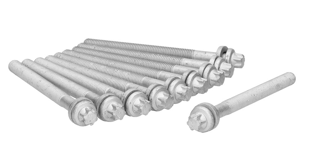 Ajusa 81039600 Bolt Kit cylinder head Auto Juntas S.A.U.
