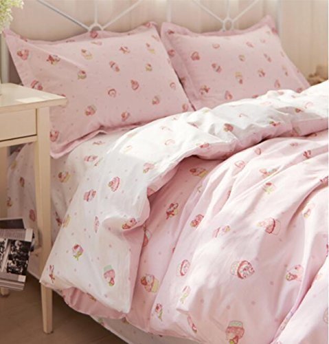 strawberry shortcake sheet set - 8