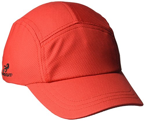 Headsweats Performance Race/Running/Outdoor Sports Hat, Race Hat Red, One Size (Technology Red Race)