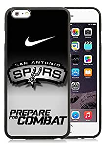 san antonio spurs(1) Black iPhone 6 Plus 5.5 inch TPU Cellphone Case Luxurious and Newest Design