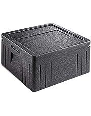 EPP-thermobox Pizza Eco Line zwart, 21,5 L, met deksel