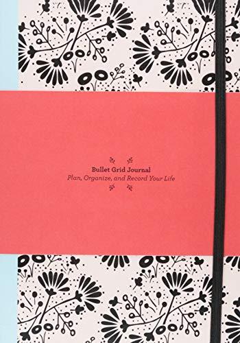 Bullet Grid Journal: Floral