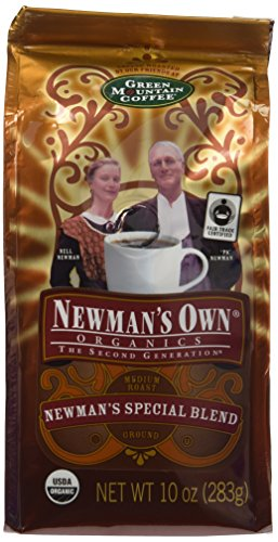 - Newman's Own Organic Special Blend Ground Coffee, 10-Ounce Bags (Pack of 3)