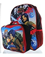"Star Wars Rebels War 15"" Backpack with Lunch Bag"
