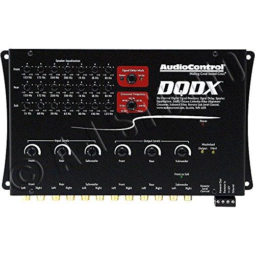 Processor Audio Digital (AudioControl DQDX Black 6 Channel Performance Digital Signal Processor)