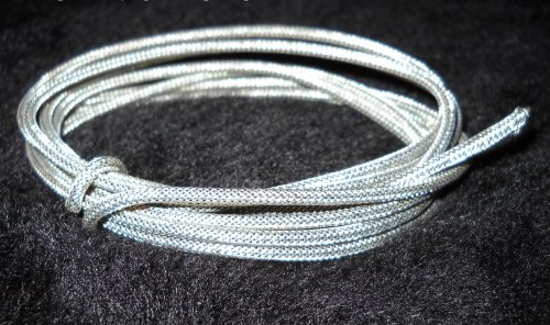 Braided Shield Wire for Guitars Vintage-correct - 22awg - 5 Feet ()