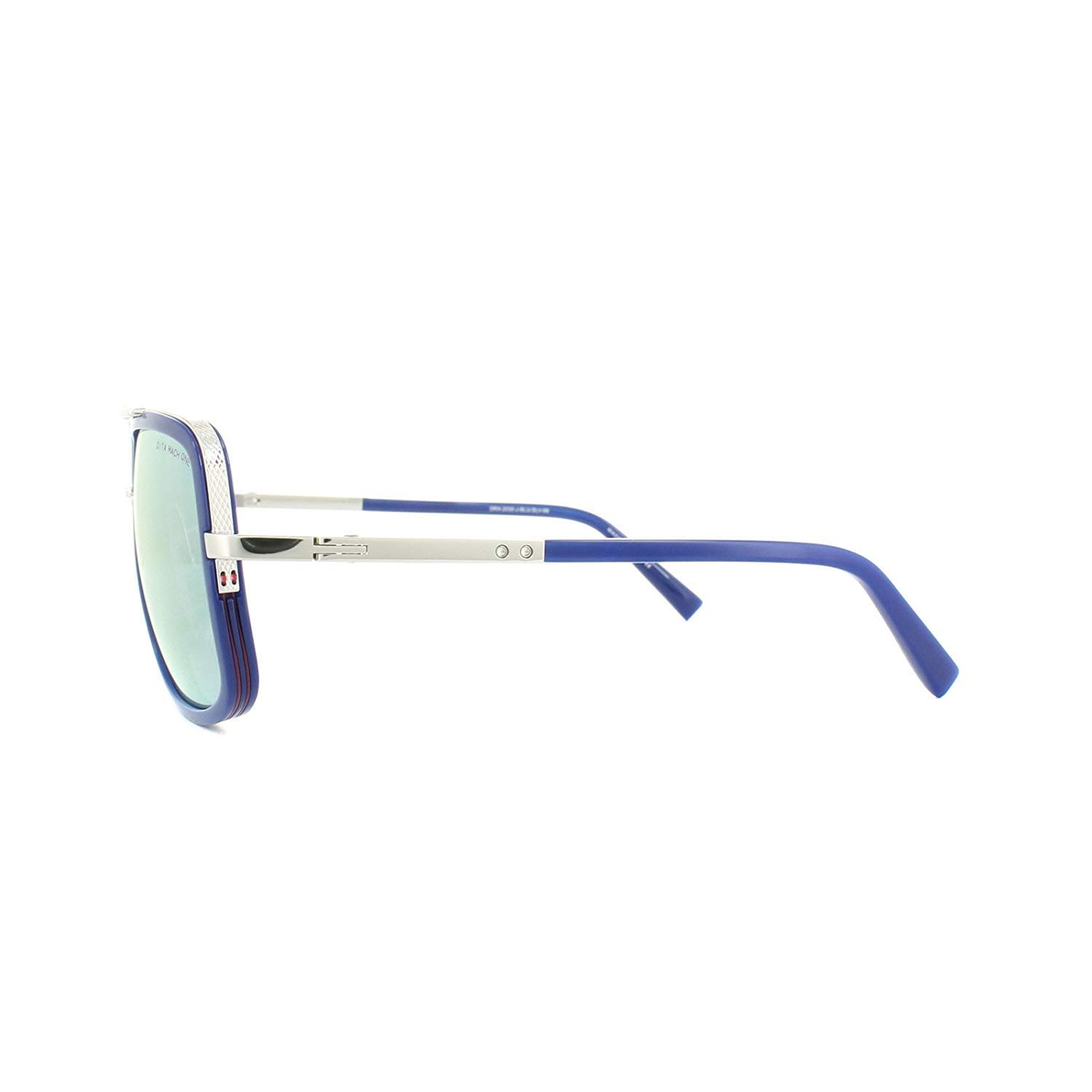 a4a6fb9e8c Dita Sunglasses Mach-One DRX-2030-J-59 Blue Silver Dark Grey Gold Mirror   Amazon.ca  Luggage   Bags