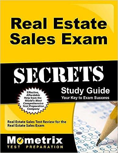 real estate sales exam secrets study guide real estate sales test review for the real estate sales exam