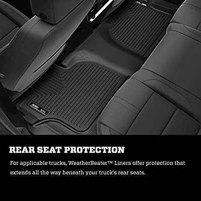Husky Liners Fits 2011-19 Ford Explorer Weatherbeater 3rd Seat Floor Mat: Automotive