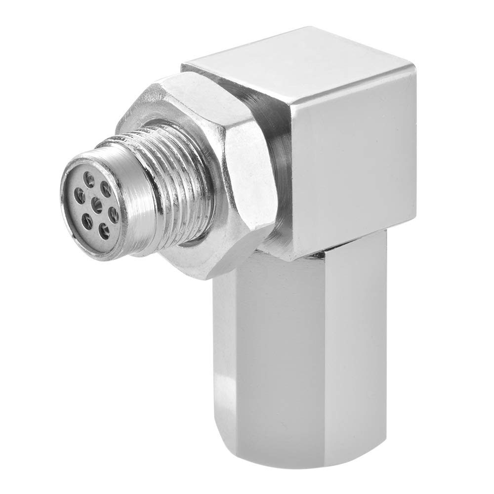 XCSOURCE Oxygen Sensor Spacer Engine Light CEL Check Bung Mini Catalytic Converter MA1991