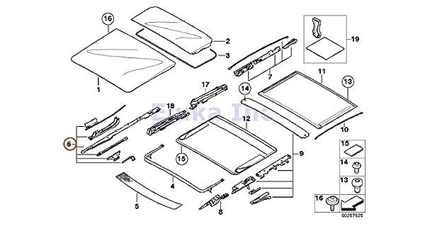 Amazon Com Bmw Genuine Panoramic Roof Sunroof Repair Kit For