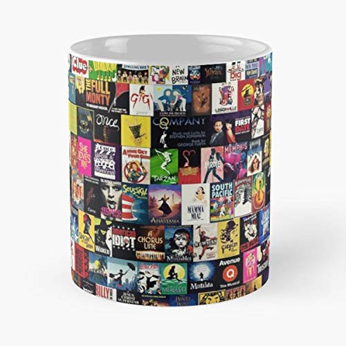 Musicals Broadway West End Musical Theatre - Coffee Mug 11 Oz Funny Gift (Best West End Musicals Ever)
