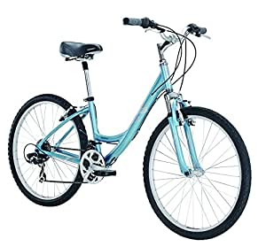 Diamondback Bicycles Women's 2015 Serene Classic Complete Comfort Bike, 15-Inch/Small, Blue
