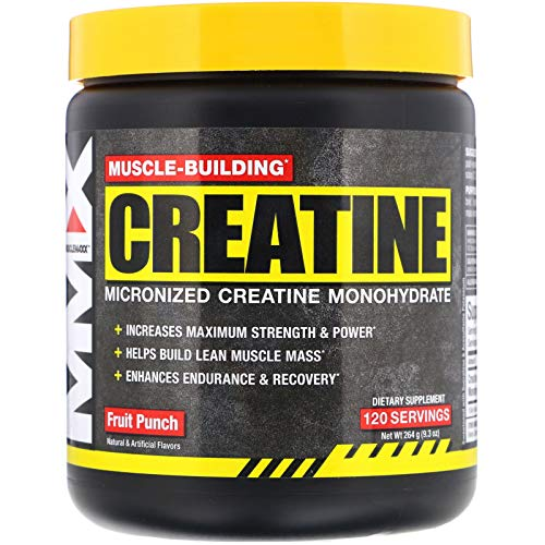 MuscleMaxx Muscle Building Creatine Fruit Punch 9 3 oz 264 g
