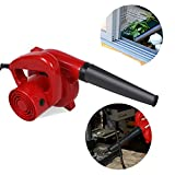 Meflying 600W/16,000 RPM Professional Electric Handheld Leaf Blower Dust Vacuum Cleaner Mini Sweeper Cleaner for Home Garden Shop Garage Garden, Vehicle Dryer (US STOCK)