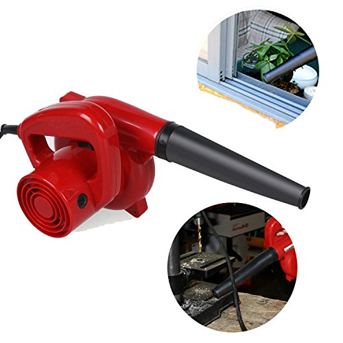 Meflying 600W/16,000 RPM Professional Electric Handheld Leaf Blower Dust Vacuum Cleaner Mini Sweeper Cleaner for Home Garden Shop Garage Garden, Vehicle Dryer (US STOCK) by Meflying
