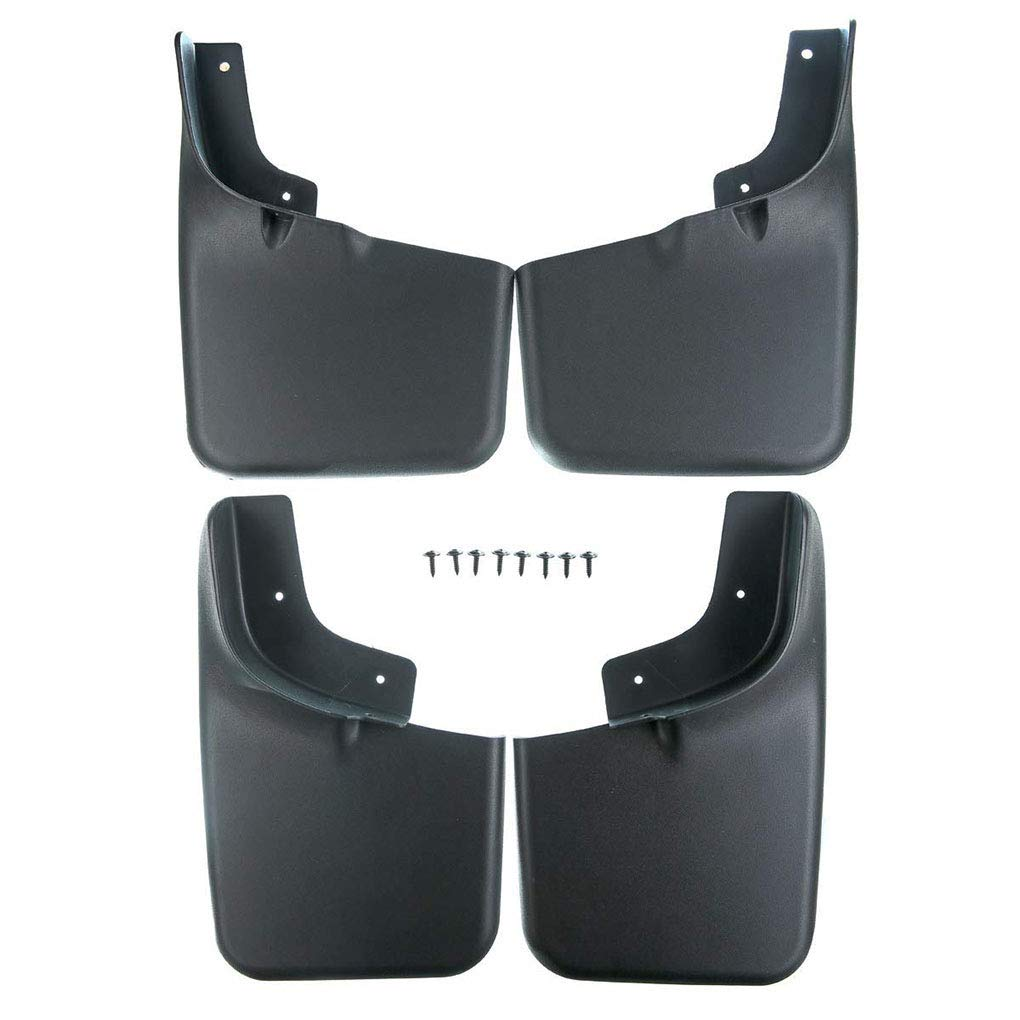 Mud Guard Mud Flaps Car Front Rear ABS Plastic Splash Protector Replacement for Ford F-150 2004-2014 Fender Flares
