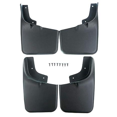 Topker Barro Guardabarros Trasero Flaps Frente del Coche de plástico ABS Splash Protector de reemplazo para
