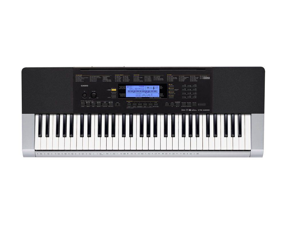 Touch-Sensitive Keys Of Casio CTK 4400