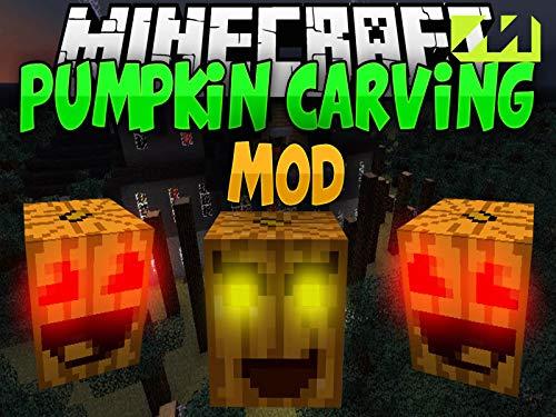 Clip: Pumpkin Carving Mod