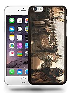 Vintage Les Mis¨¦rables Sketch Art Drawing Phone Case Cover Designs for iPhone 6 Plus