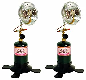 Texsport Portable Outdoor Propane Heater (Pack of 2)