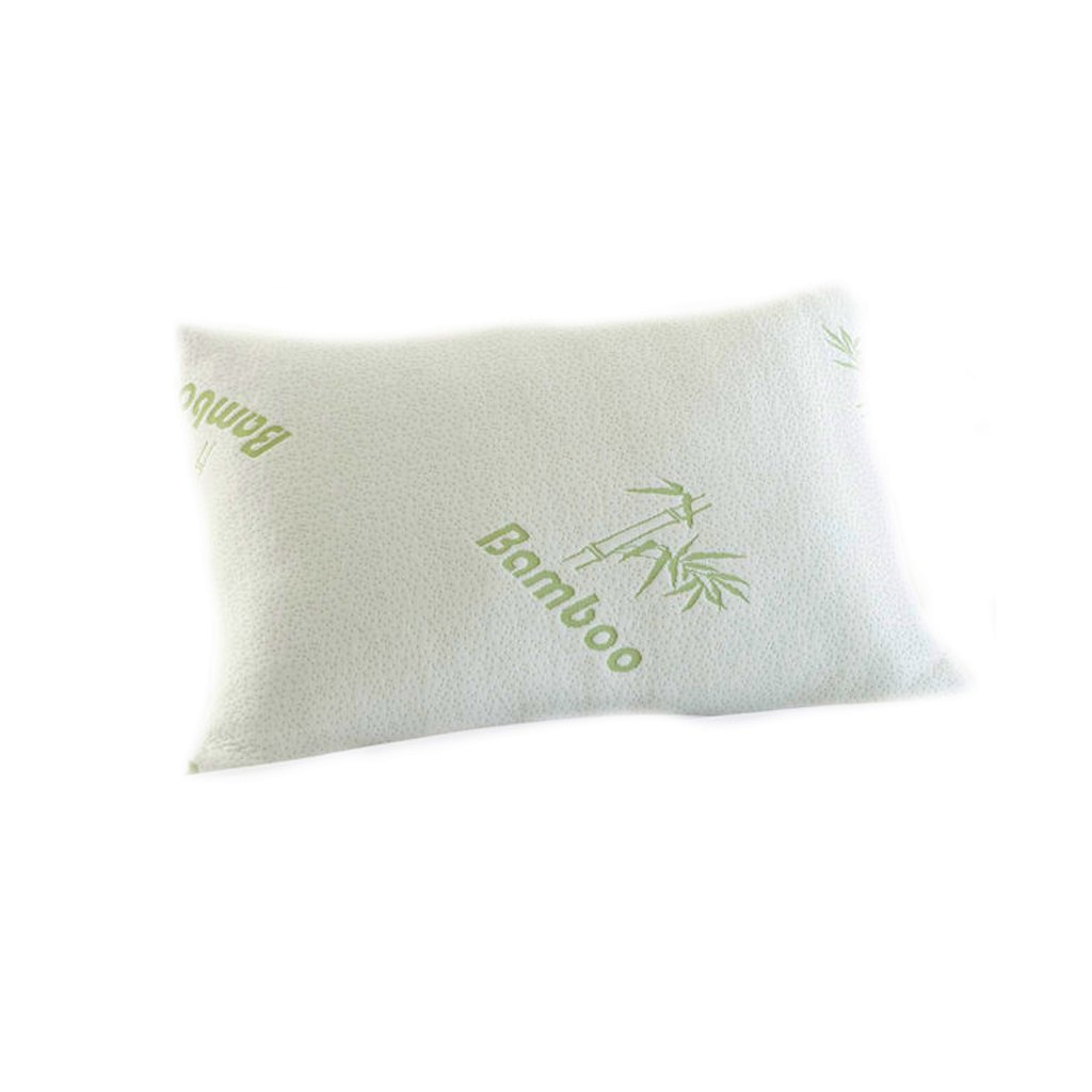 Original King Hotel Bamboo Comfort Memory Foam Pillow Hypoallergenic Stay Cool (1 King Pillow)