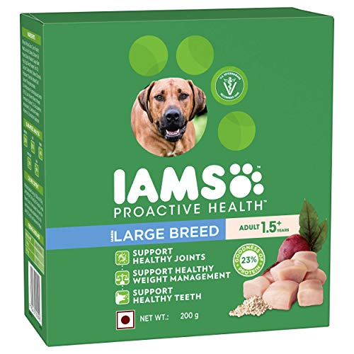 IAMS Proactive Health Adult Large Breed Dogs (1.5+ Years) Dry Dog Food, 200g Sample Pack