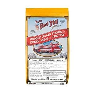 Amazon.com : Bob's Red Mill Honey Almond Granola, 25 Pound