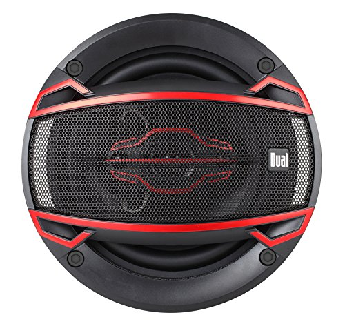 Dual Electronics DLS524 4-Way 5 ¼ inch Car Speakers with 120 Watt Power & 30mm Mylar Balanced Dome Midrange by Dual Electronics (Image #1)