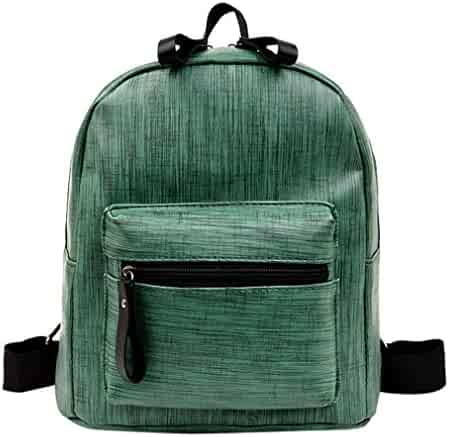 067bef9594cb Cool Backpacks For Teen Girls In Middle School Leather Student Shoulder Bag