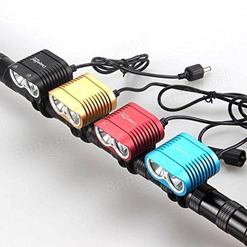 Bazaar I2 LED vélo headlamp vélo vélo de lumière