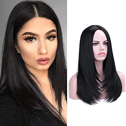 Rosa Star Hair Wigs for Women Long Hair Wig Synthetic Heat Resistant Fiber Hair Wigs(1#) -