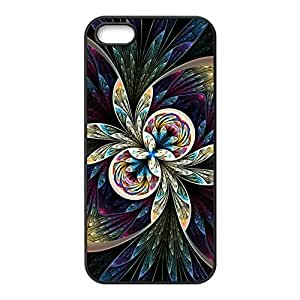 Custom Artistic Abstract Pattern Decorative Apple Iphone 5 and 5s Hard Case Cover phone Cases Covers