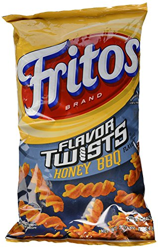 9.75oz Fritos Flavor Twists Honey BBQ Corn Snacks (Pack of 4)