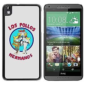 Los Pollos Hermanos Logo Durable High Quality HTC Desire 816 Phone Case