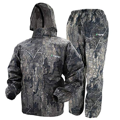 Frogg Toggs All Sport Rain Suit, Realtree Timber, Size XX-Large