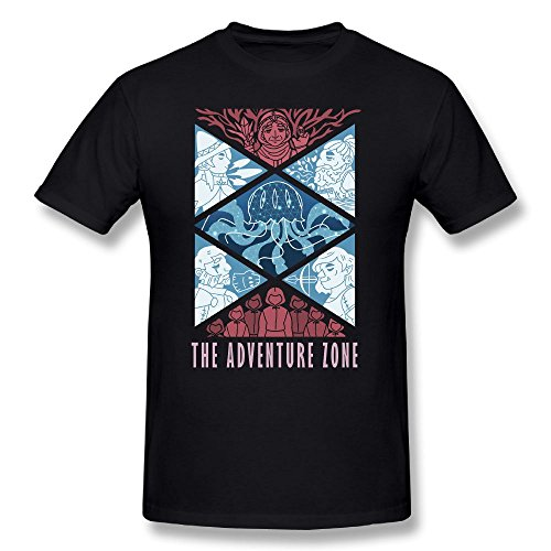 Qbbe Mens The Adventure Zone Plus T Shirt Tees L