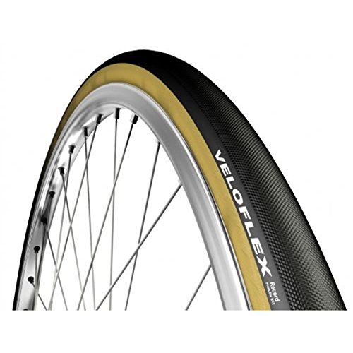 (VeloFlex Record 26 Tubular Road Bike Tire (Black - 26 x 20))