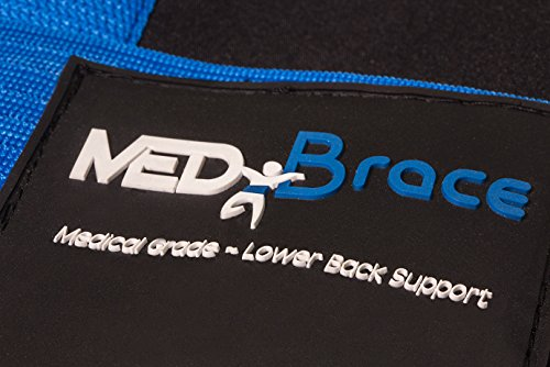 Back Support Brace, Lower Lumbar Belt MEDiBrace II (Medical Grade) Pain & Discomfort Relief from Sciatica, Backache, Slipped Disc, Hernia, Spinal Stenosis, Spine Injury Prevention | Posture Corset by ProfessorZ (Image #7)