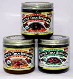 Better Than Bouillon Organic Chicken , Beef and Vegetable Base . 3 Pack