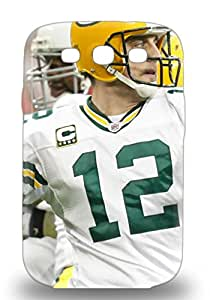 New Premium NFL Green Bay Packers Aaron Rodgers #12 Skin Case Cover Excellent Fitted For Galaxy S3 ( Custom Picture iPhone 6, iPhone 6 PLUS, iPhone 5, iPhone 5S, iPhone 5C, iPhone 4, iPhone 4S,Galaxy S6,Galaxy S5,Galaxy S4,Galaxy S3,Note 3,iPad Mini-Mini 2,iPad Air )