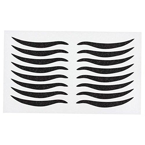 Gracefulvara 96pcs Sexy Cat Style Eyes Sticker Black Eyelid Eyeliner - Styles Cat Eye