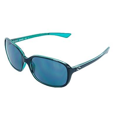 Costa Riverton 580P - Gafas de sol polarizadas para mujer - RVT122OGP, Talla única, Shiny Black Kiwi Gray: Amazon.es: Deportes y aire libre
