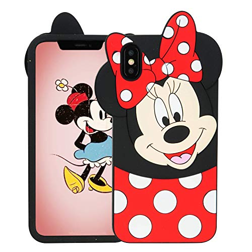 Lalakaka Funny Minnie Case for iPhone XR 6.1
