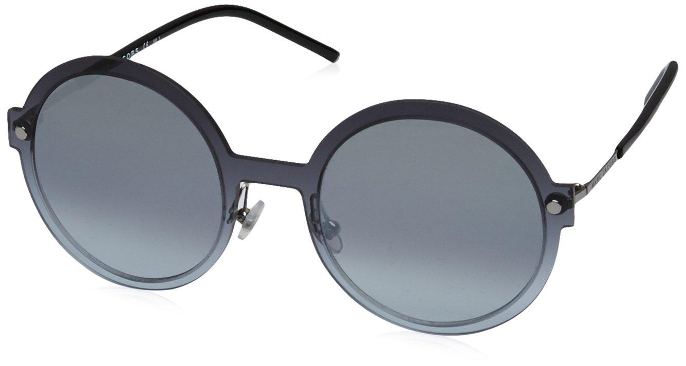 Marc Jacobs Unisex-Erwachsene Sonnenbrille Marc 29/S GO Fse, Greyazu Blck/Grey Azure Silv, 54