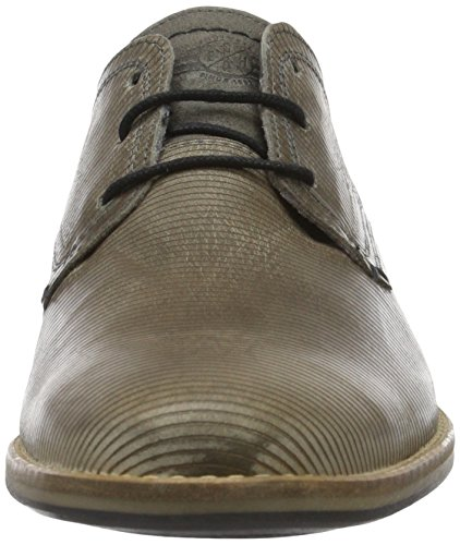 BULLBOXER 773K24783A, Zapatos Derby Hombre Gris (B5GY)