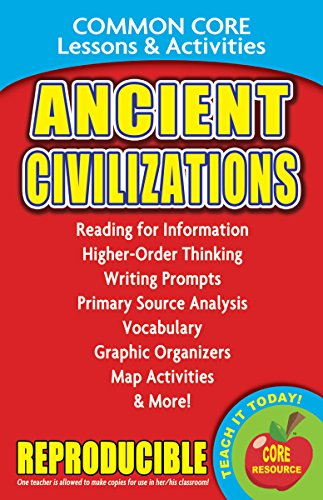Ancient Civilizations - Common Core Lessons and Activities
