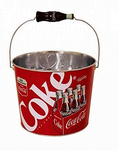 Coca Cola Retro Beverage Bucket